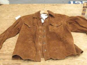 Skotts washable Suede Shirt/jacket. Large
