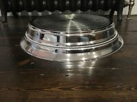 Napier Silver Wedding Cake stand - used once
