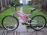 LADIES TRAX MOUNTAIN BIKE