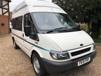 Auto Sleeper Duetto Camper Van - 2001(51)reg Ford Transit 2.4TD - 54520 Miles - Part Ex Welcome