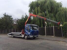 7.5 ton hiab hire crane hire hot tubs delivery
