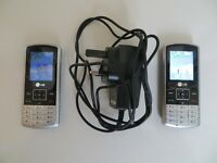 A NICE CLASSIC A NICE RARE LG KP 170 X 2 MOBILE PHONE WITH CHARGER , MINT