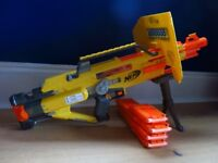 Nerf Gun N-Strike Stampede ECS with 60 darts