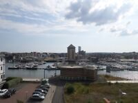 BEAUTIFUL 1 BED APARTMENT FOR RENT SWANSEA MARINA NO FEES Ready Now