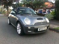 2003 (03) Mini Cooper S Chili Pack 1.6 163bhp 3door, 1 previous owner - Excellent condition