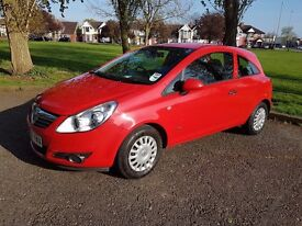 VAUXHALL CORSA 1.0 LIFE 3d (red)2009 not(fiasta,astra,clio,fabia,micra,yaris,Peugeot 206,207,308)