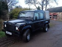 Landrover Defender 110 double cab pick up 2.5 TD5