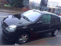 Renault Clio Dynamique 1.2 Petrol 2004 Black - BARGAIN! QUICK SALE!