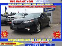 2010 Acura TL 5-Speed AT SH-AWD with Tech Package*SUNROOF*PUSH S
