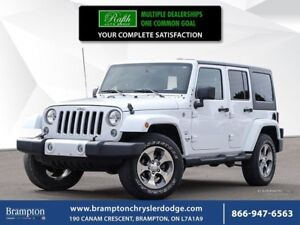 2016 Jeep Wrangler SAHARA 4X4 | TRADE-IN | CLEAN CARPROOF