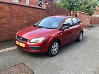Ford Focus LX 116 (2007) 5 Door Red ONLY 56,580 Miles !