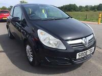 BARGAIN! Vauxhall corsa life, 1.2, full years MOT, ready to go