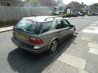 Saab 95 2.0 turbo Estate in good condition and reliable with full service history.