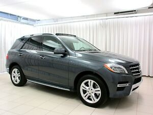 2015 Mercedes-Benz ML 400 4MATIC SUV w/ PANORAMIC ROOF, NAVIGATI