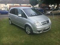 Vauxhall meriva 12 months mot tax hpi clear 59 plate
