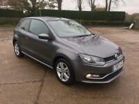2017 VW Polo 1.2 TSI Match Edition Hatchback Cat D New mot Low Mileage 1368 Excellent condition