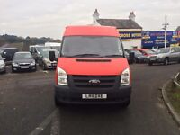 2011 FORD TRANSIT 100 T350L RWD RED