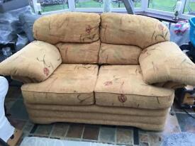 Free two seater sofa excellent condition collection only