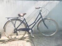 Navy bike