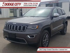 2017 Jeep Grand Cherokee Limited | 4x4 - Uconnect, Heated Seats,