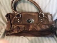Next large brown handbag, never used
