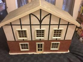 hand built dolls house