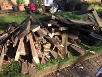 More. FREE decking, wood, fence panels etc..