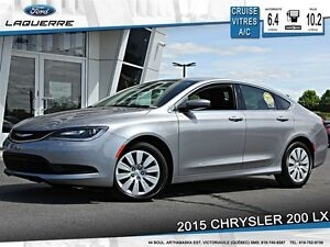 2015 Chrysler 200 **LX*AUTOMATIQUE*CRUISE*A/C**