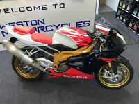 APRILLIA RSV FACTORY 1000CC ONLY 5000MILES STUNNING NEW MOT WARRANTY