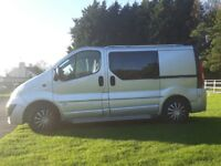 Vauxhall Vivaro Camper Conversion, Dayvan, Motorhome, Sleeps 2, Air Con, Fully Insulated & Carpeted