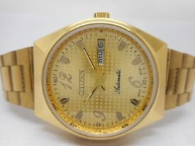 citizen watch on for sale