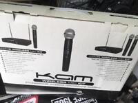 Twin Wireless Microphone kit