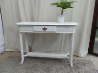 Painted Pine Console Table