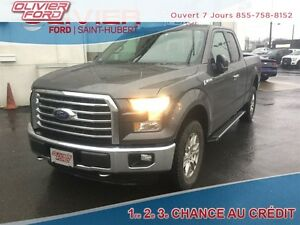 2015 Ford F-150 XLT 4X4 A/C MAGS CAM. RECUL