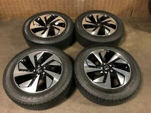 JDM HONDA CRV 2017 USED MAGS OEM 18INCH 225/60R18 WITH DUNLOP  SUMMER TIRES FOR SALE