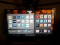 BUSH 32inch SMART LED HD TV, builtin FreeView, Excellent mint condition and fully working