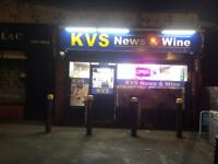 Off licence shop for sale or to lease