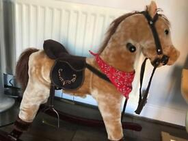 Heritage Rocking Horse With Sounds