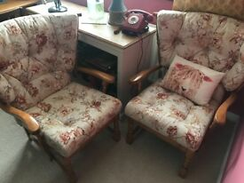 SALE - pair of conservatory chairs
