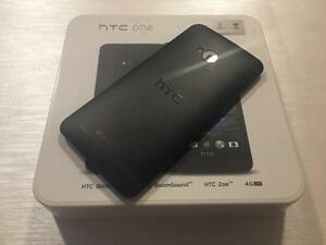 HTC ONE M7 32GB Black - UNLOCKED - 10/10 NEW - Guaranteed Activation + No Blacklist