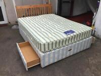 King size bed & matress