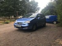 Automatic Chevrolet Tacuma CDX plus for sale, MOT, low mileage, drives perfect.