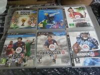 ps3 games and controler