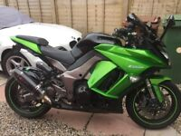 Kawasaki z1000sx stunning bike with extras .