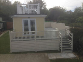 Extra Special Roofdeck Static Holiday Caravan with Great Panoramic Views over the Themes Estuary