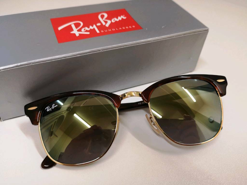 2cc2db3bc36 Ray-Ban Clubmaster Flash Lenses Gradient Sunglasses | in ...