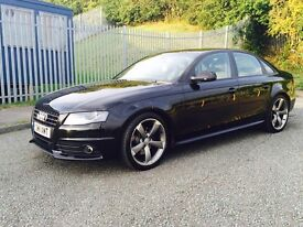 2011 2.0 Black Audi A4 SLine Black Edition 5door manual 6speed