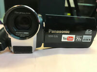 Panasonic SDR-S26 Flash Memory Camcorder With SD Card Slot - Blac