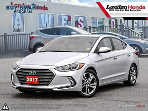 2017 Hyundai Elantra LE Former rental, Loaded, Leather interi...