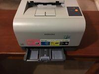 Samsung colour laser jet printer (CLP 300)